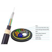 Buy cheap ADSS Double Jacket Optical Fiber Cable 200m Span G652D FOYC / Corning Fiber from wholesalers