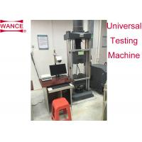 China Strand Steel Wire Tensile Testing Machine With Extra Long Jaw Face ASTM A416 Standard wholesale
