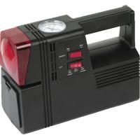 China Square Black Plastic Air Compressor For Car Tyres 3 In 1 Black And Red wholesale