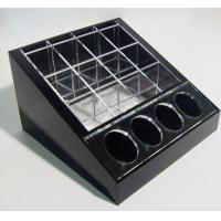 China Black Cosmetic Display Desktop Cosmetic Display Holders 15cm X 15cm wholesale