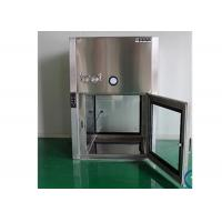 China GMP Standard Dynamic Air Shower Pass Box For Pharmaceutical Factory wholesale