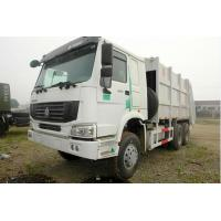 China 6x4 Euro II Emission Standard Trash Compactor Truck , Compact Garbage Truck 12m3 wholesale