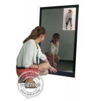 China 13.3 Inch Magic Mirror Advertising Player , Bathroom Body Motion Sensor Mirror Media Player Android wholesale