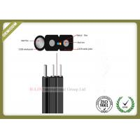 China FRP / KFRP Strength Member FTTH drop cable 2 Core SM GJYXFCH with Black or White Jacket wholesale