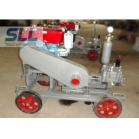 China 2 MPa Pressure Cement Grouting Pump With Gear Reducer Low Failure Rate wholesale