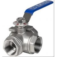 China 3 port ball valve wholesale