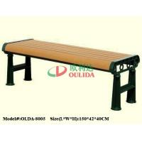 China Recyclable 100% Composite Picnic Bench , Waterproof Composite Wood Bench Slats wholesale