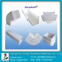 China 2015 Hotsales PVC Rain Gutter System With Cheaper Price And Higher Quality wholesale