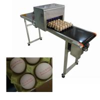 China Electrical Egg Industrial Inkjet PrinterWith 0 - 5 Mm Printing Distance wholesale