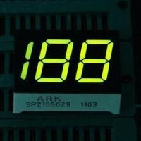 China 7 Segment LED Display, 0.50-inch Three Digits, Used for Digital Indicators wholesale