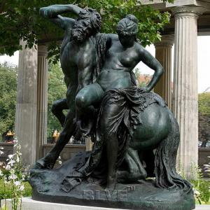 China Bronze Centaur Chiron Statue And Greek Naked Woman Sculpture Life Size Famous Garden Decoration wholesale