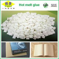 China Solid Hot Melt Adhesive for Newspaper Binding , Coated Paper 125gsm wholesale