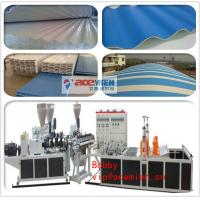 China PVC Tile Forming Machine Type and Roof Use PVC Corrugated Sheet Forming Machine on sale