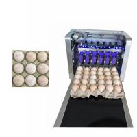 China High Performance Trademarks Edible Ink Printer For Whole Tray Filled Eggs wholesale