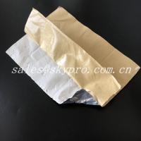 China Waterproof Self - Adhesive Butyl Rubber Sealing Tape Covered With Aluminum Foil wholesale