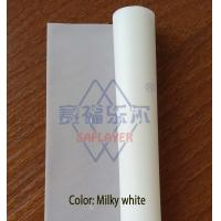 China 0.38mm Milky white color PVB film for laminated glass wholesale