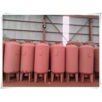 China Red Color Water Pump Diaphragm Pressure Tank For Water Supply System High Building wholesale