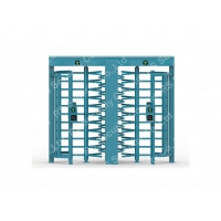 China Road Safety Half Height Turnstile Access Control System Full Automatic With Rfid Reader on sale