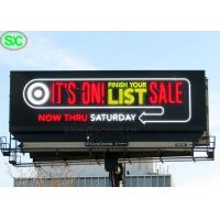China Ultra Thin RGB P6 P8 IP65 Led Advertising Billboards With 8 Years Warranty wholesale