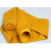 China Needle felt micron P84 filter fabric industrial dust collector filter bags wholesale
