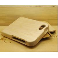China Light Yellow Smooth Surface Iphone 5 Wood Cases,Real Maple Wood phone case on sale