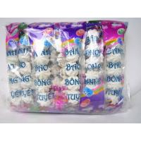 China Bread Shape White Colored Marshmallow Candy 5pcs In One Bag OEM wholesale