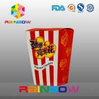 China Fast Food Customized Paper Bags Popcorn Fried Chicken Paper Bags wholesale