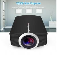 China YG500 Upgrade YG510 Mini Projector 1080P 1800Lumen Portable LCD LED Projector Home Cinema USB HDMI 3D Beamer Bass Speake wholesale