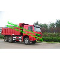 China Sinotruk HOWO ZZ3257M3857A 30T Load STR Axle 6x6 Tipper Truck Hyva Dumper Truck on sale