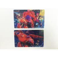 China Disney Fama Lenticular Printing Business Cards 0.38mm / 0.45mm / 0.58mm wholesale