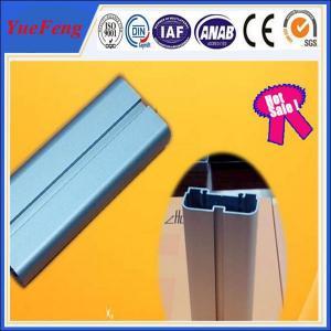 China 6063 T5 anodized aluminum blue flat bar / aluminium bar price per kg,  led light alu bar wholesale
