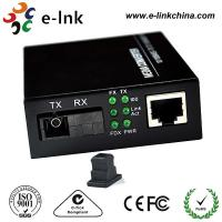 China Mc101xl / Mc102xl Fiber Ethernet Media Converter Single Mode 20km Distance , SC BIDI wholesale