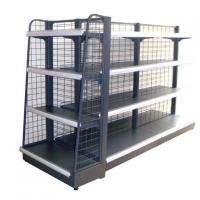China Commercial Wire Rack Storage Shelves , Metal Wire Shelving 0.8mm Top Cover wholesale