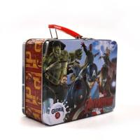 China Marvel Avengers Metal Tin Lunch Box wholesale