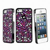 China Fashionable High-quality Hard Skin Case/Cover for iPhone 5 wholesale