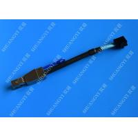 China 0.3 M Black Serial Attached SCSI Cable External HD Mini SAS SFF-8643 To SFF-8644 Cable wholesale