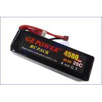 China 4000mAh 35C 22.2V RC rechargeable toy battery wholesale