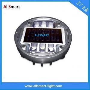 China Solar road stud ASD-013 CE IP68 alluminum road solar road marker solar warning lights wholesale