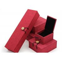 China Luxury Necklace Paper Jewelry Box Offset Printing Durable For Presentation Gift wholesale