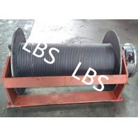 China Groove Sleeve Hydraulic Crane Winch 3 MM - 190 MM Wire Diameter wholesale