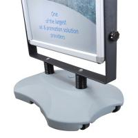 Quality Outdoor Advertising Snap Frame Stand With Water Base Aluminum Material for sale