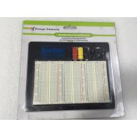 China 1100 Points Round Hole Breadboard Solderless For School student Experiment wholesale