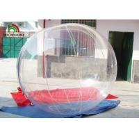Buy cheap Transparent Clear PVC / TPU Inflatable Walk On Water Ball Self-Stand For Family from wholesalers