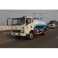 China Sinotruck 8M3 Sewage Suction Truck SWZ 4 X 2  129hp Self Discharge ZF8098 wholesale