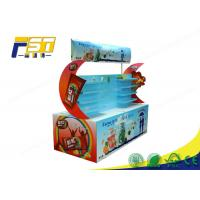 China Waterproof Corrugated Cardboard Pallet Display Glossy Surface For Retail Promotion wholesale