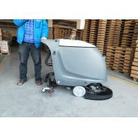 China Semi-automatic Battery Powered Floor Scrubber In 18 Inch And 20 Inch Brush wholesale