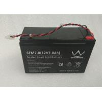 China Solar Lamp Gel Lead Acid Battery , Wire Terminal 7Ah 12V Deep Cycle Gel Battery wholesale