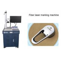 China Fiber Laser Marker Air cooling , Stainless Steel Laser Marking Machines 30W wholesale