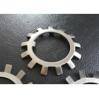 China MB01 - MB20 SS304 , SS316 Lock Washer with External Teeth Serrated wholesale