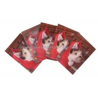 China Rectangle Adhesive 3D Lenticular Stickers For Children's Book PET/PP Printing wholesale
